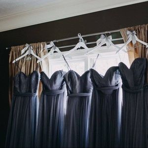 1 gray dress. Perfect for bridesmaid, prom, etc